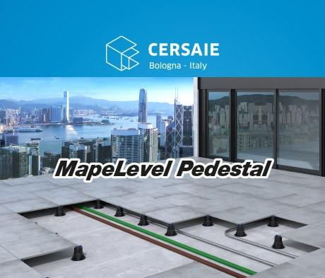 Mapelevel Pedestal: il sistema Mapei per la posa di pavimentazioni sopraelevate