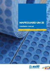 MAPEGUARD UM 35 Installation manual