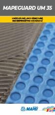 MAPEGUARD UM 35 Uncoupling, antifracture, waterproofing membrane