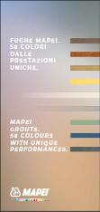 Fughe Mapei. 58 colori dalle prestazioni uniche.