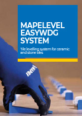 MAPELEVEL EASYWDG SYSTEM - Tile levelling system for ceramic and stone tiles