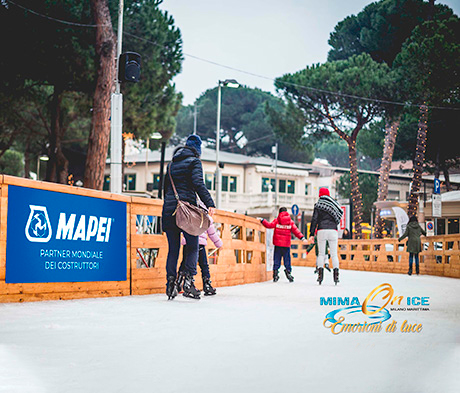 Mapei è Main Partner di MiMa on Ice 2018