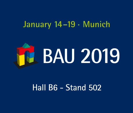 Mapei solutions for the building industry at BAU 2019