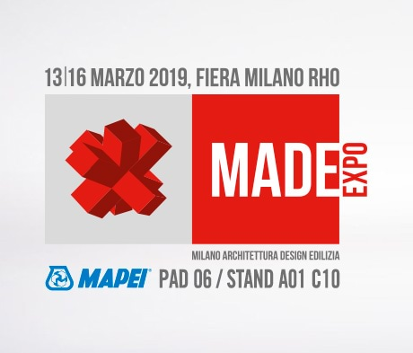 Mapei solutions for quality living on show at MADE expo 2019
