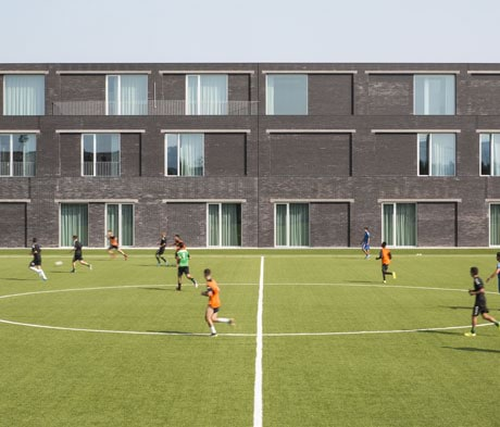 Onsitestudio receives Commendation from the Italian Architecture Prize for the Mapei Football Center