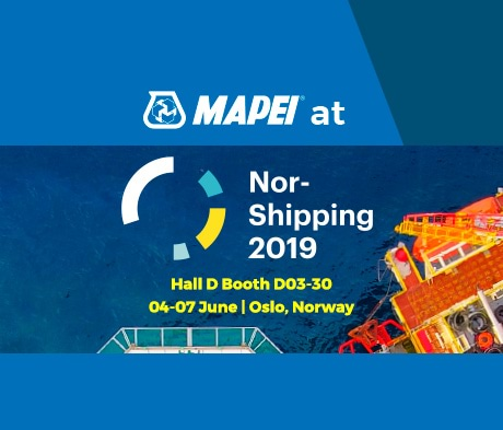 Mapei solutions at Nor-Shipping