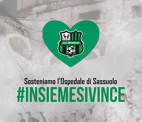 Coronavirus: Sassuolo Calcio is supporting Sassuolo Hospital