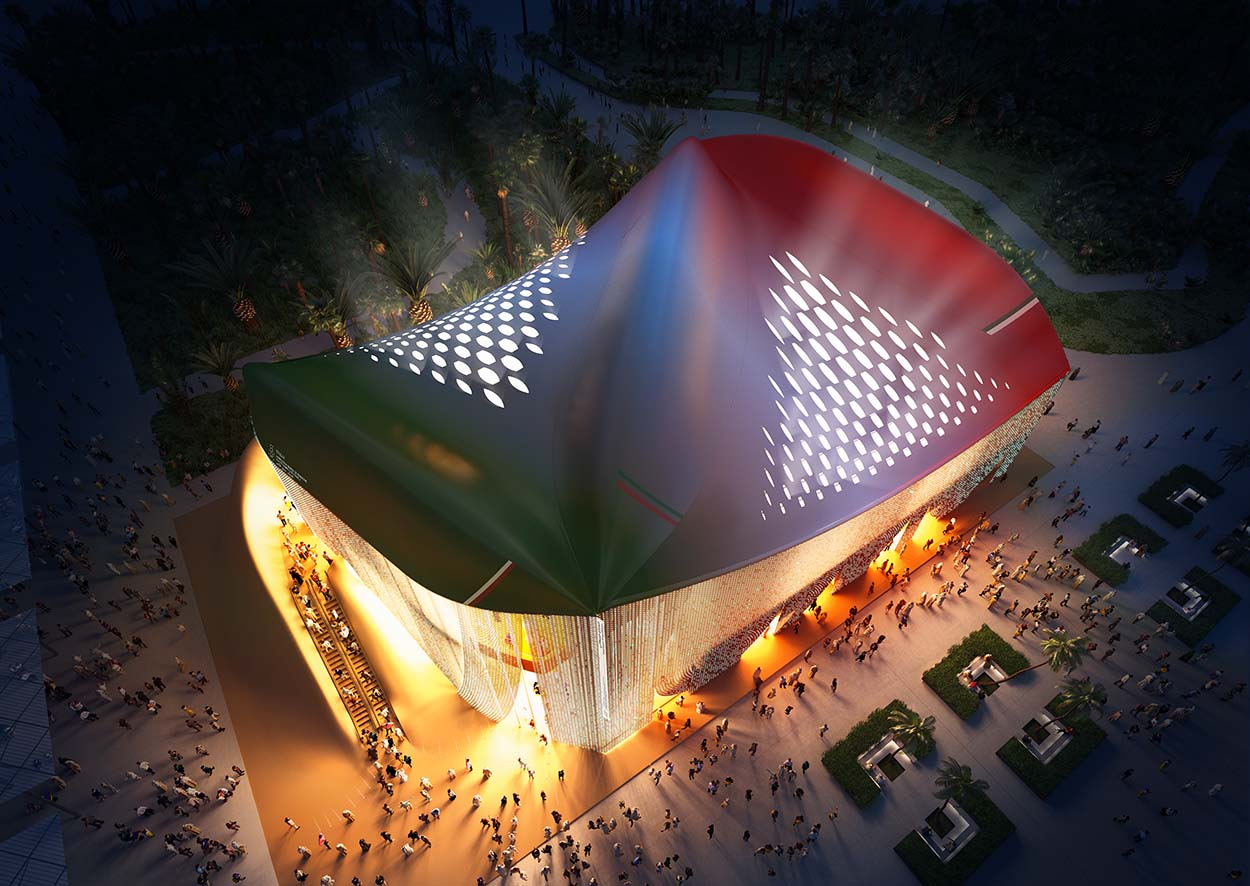 201910 Unveiling Italian Pavilion 2020_Renderings by CRA_2-r