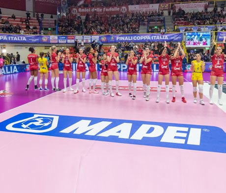 Mapei was Special Event Partner for the finals of the 2020 Coppa Italia