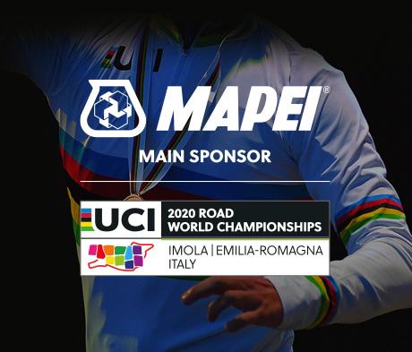 Mapei dà il benvenuto ai Campionati Mondiali di Ciclismo su Strada in Emilia Romagna