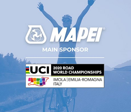 Mapei is UCI Main Sponsor for the 2020 Road World Championships