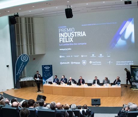 Mapei receives the Industria Felix Award as the best company in the chemical and pharmaceutical sector in the Lombardy region