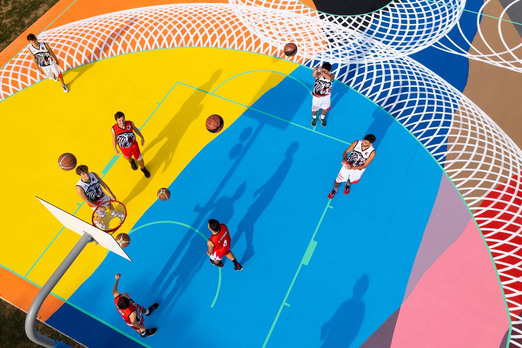 Mapei per Montemurlo_inaugurazione campo basket Oste (3)