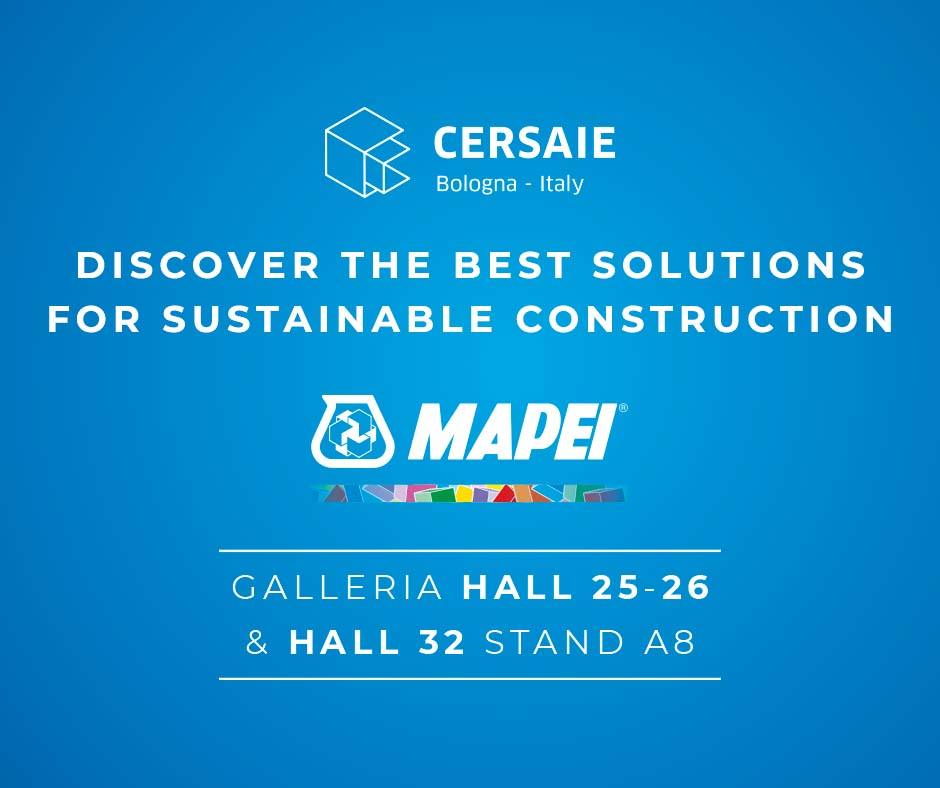 Mapei at Cersaie 2021