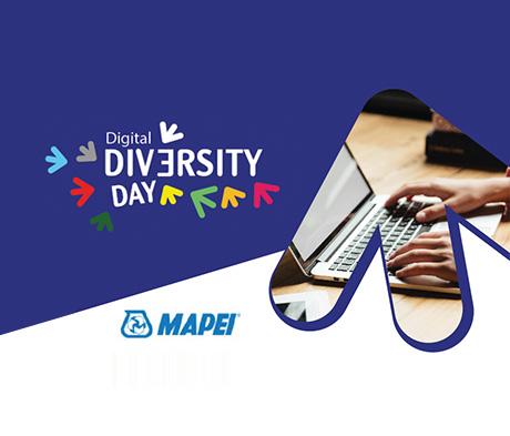Digital Diversity Day: Mapei partecipa all'evento digitale che mette al centro l'inclusione