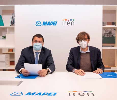 Mapei and Iren: circular economy agreement for reutilising recycled polymers for road infrastructures