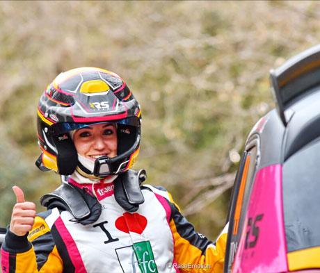 Mapei al fianco di Rachele Somaschini  per il Campionato Italiano Rally Terra 2021