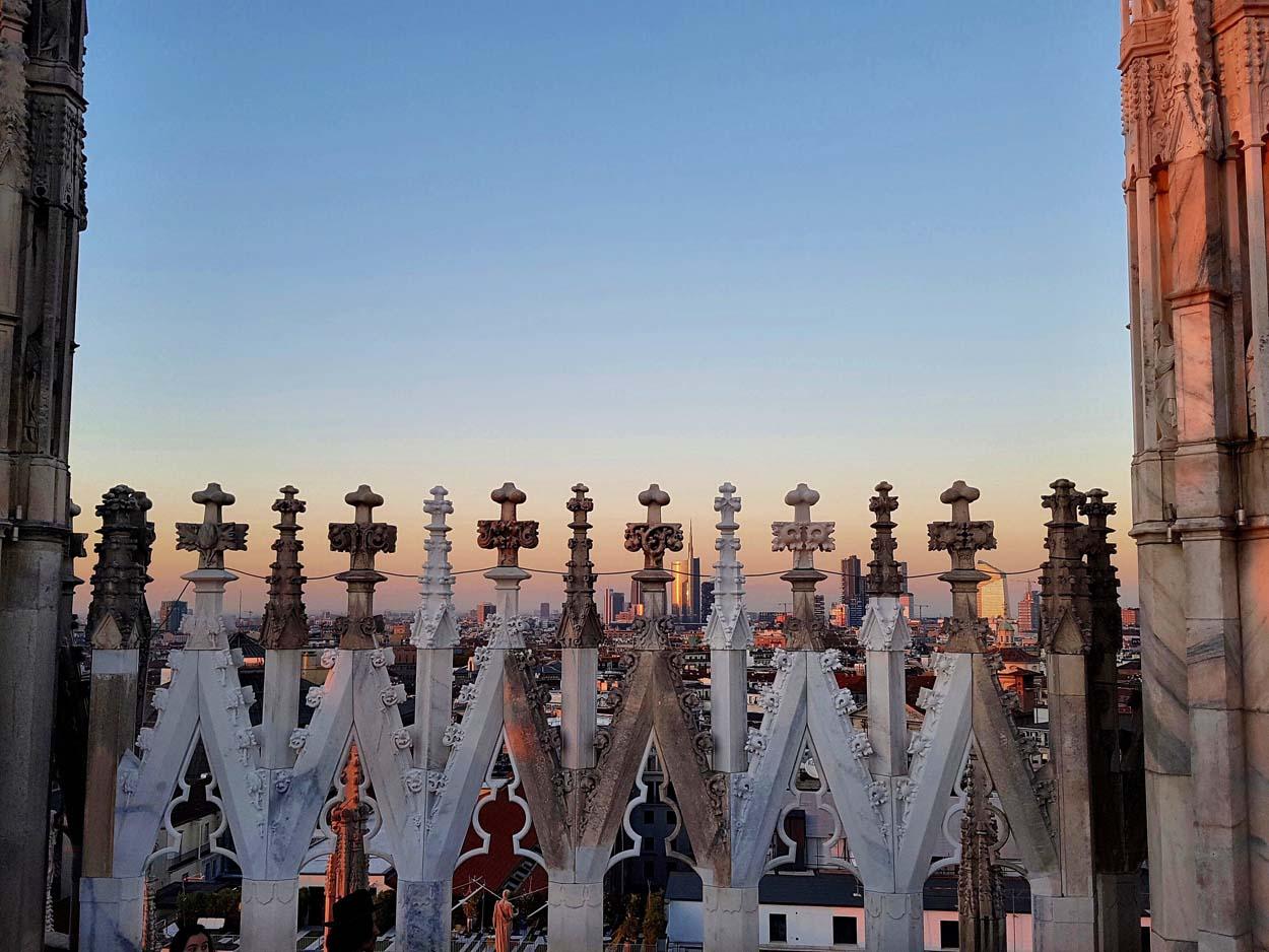 Uno sguado sulla città - Duomo di Milano