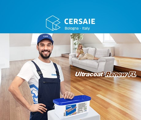 Ultracoat Renew FL: the quick and simple Mapei solution for finishing wood