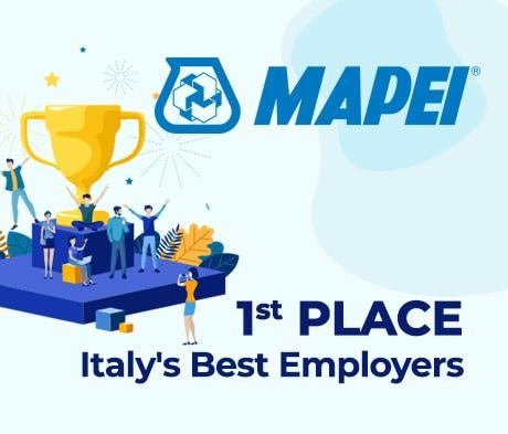 "Mapei among ""Italy's Best Employers 2022"""