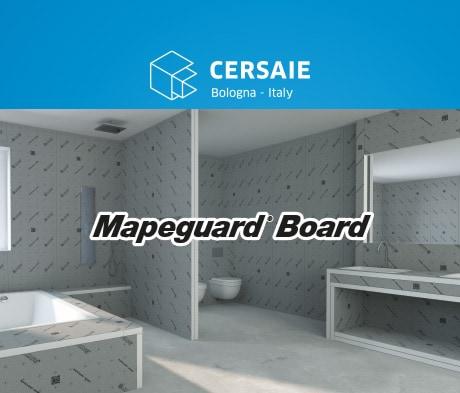 Mapeguard Board: il nuovo pannello multiuso impermeabile e leggero