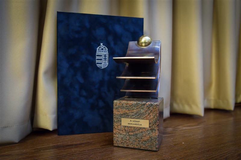 A Mapei kapta a hónap beruházója díjat