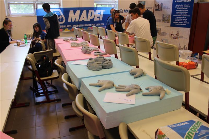 Kreatív Építő Kezek versenyének főszponzora volt a Mapei Kft.