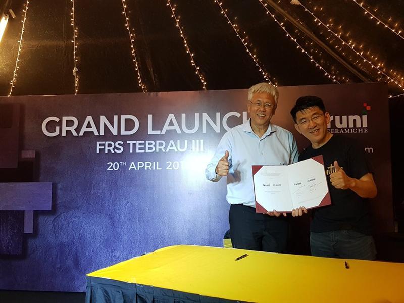 MAPEI Malaysia Enters Partnership with Feruni Ceramiche Sdn Bhd