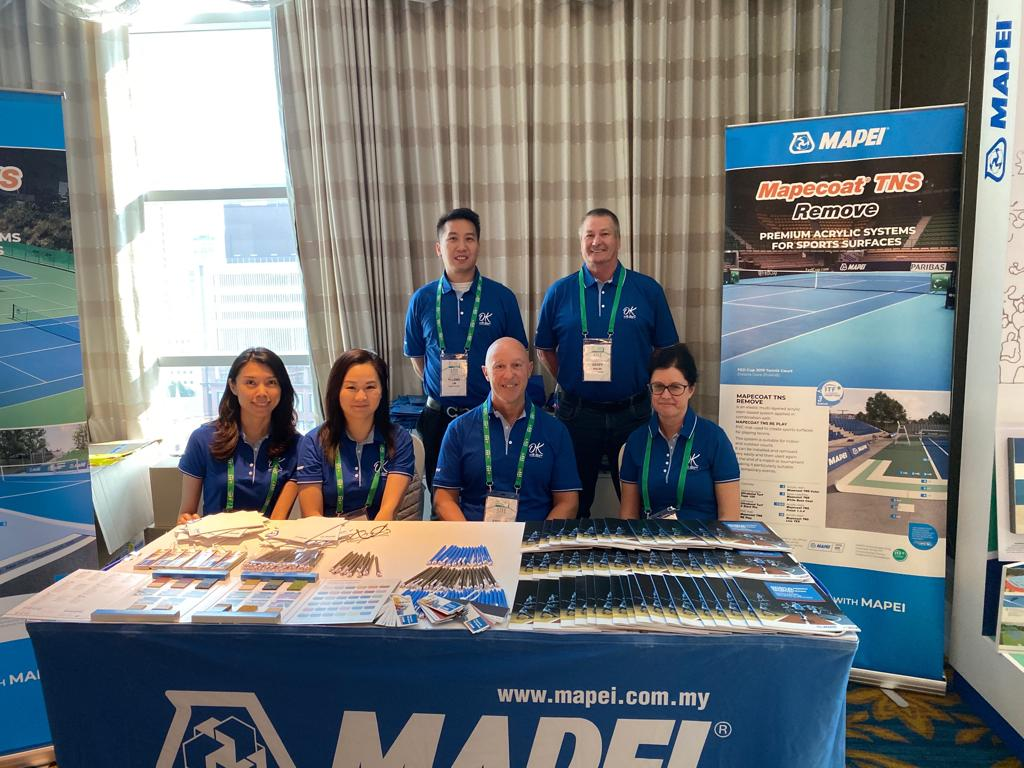 MAPEI JOINS THE ACTION AT THE ITF CONFERENCE IN BANGKOK