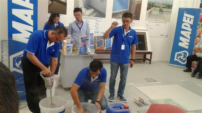 Mapei Training-2