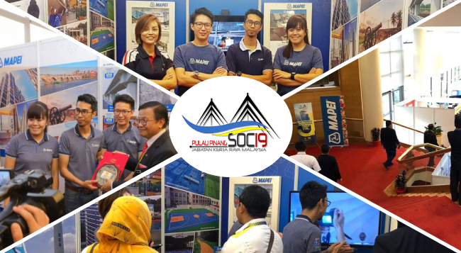 MAPEI Malaysia In JKR's SOC 2019, March 9-10