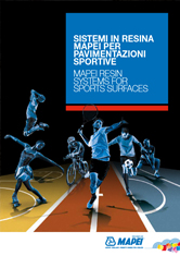 Mapei Resin Systems for Sport Surfaces