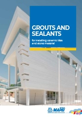 Grouts and Sealants for Ceramic Tiles and Stone Materials
