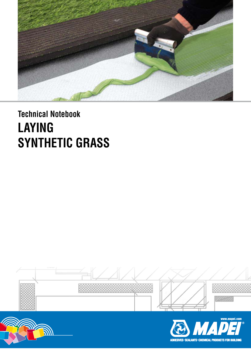 Laying Synthetic Grass