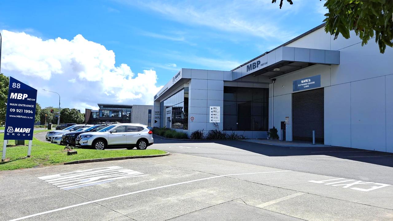 Mapei Auckland Warehouse