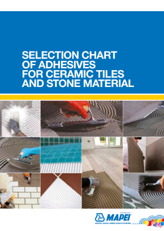 Selection Guide for Ceramics & Stone Adhesives