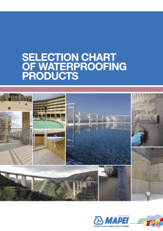 Selection Guide for Waterproofing
