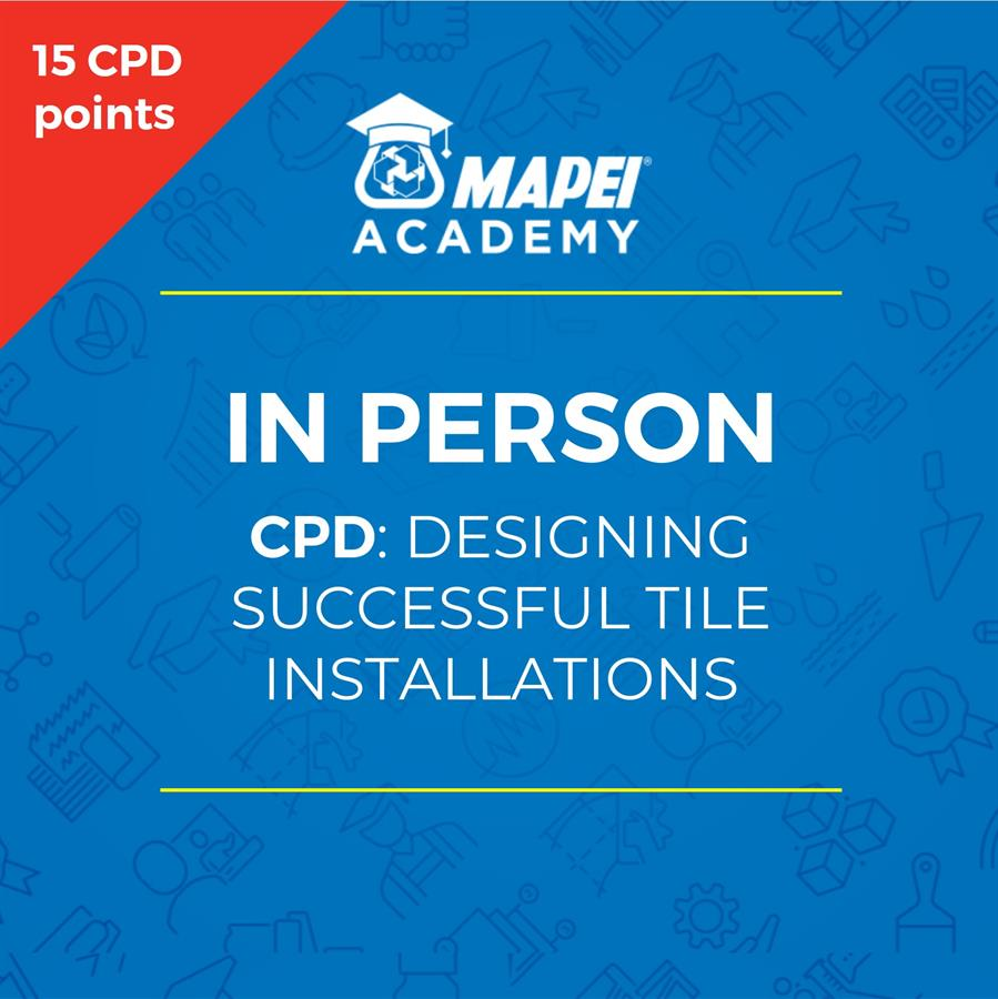 NZ Webinar - CPD designing-successful-tiling-installations