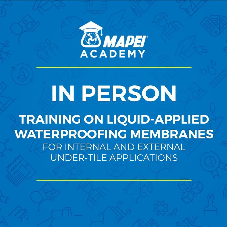 NZ Webinar - under tile liquid membrane waterproofing