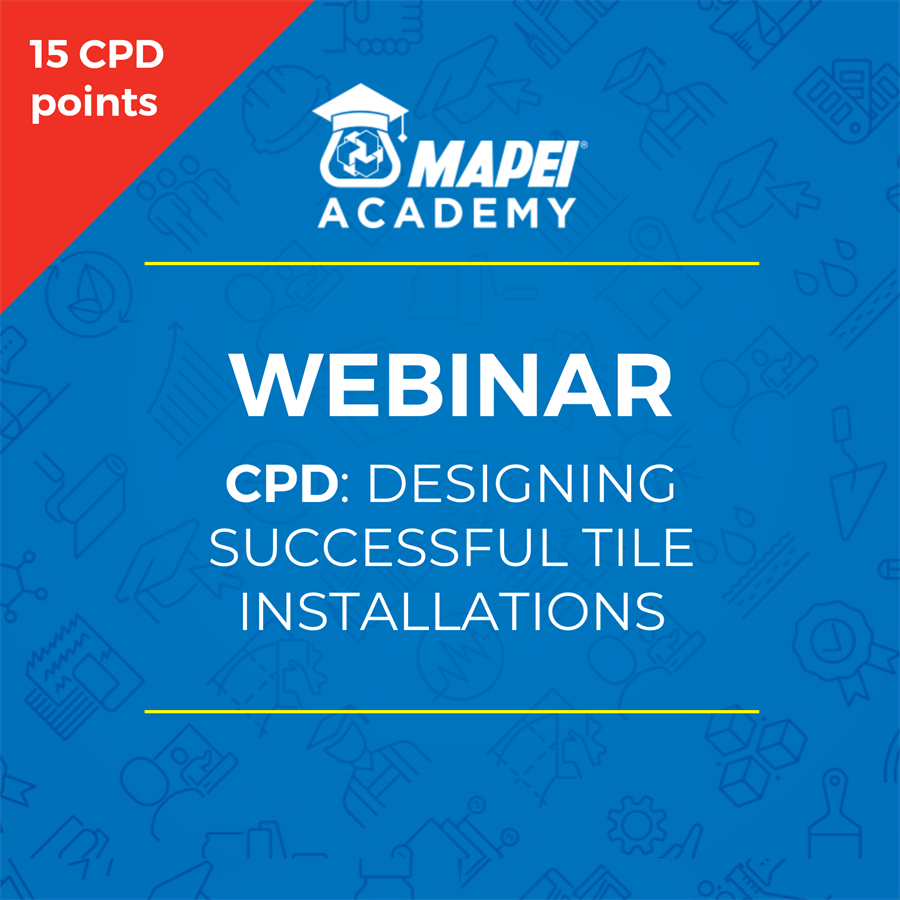 NZ Webinar - CPD designing-successful-tiling-installations