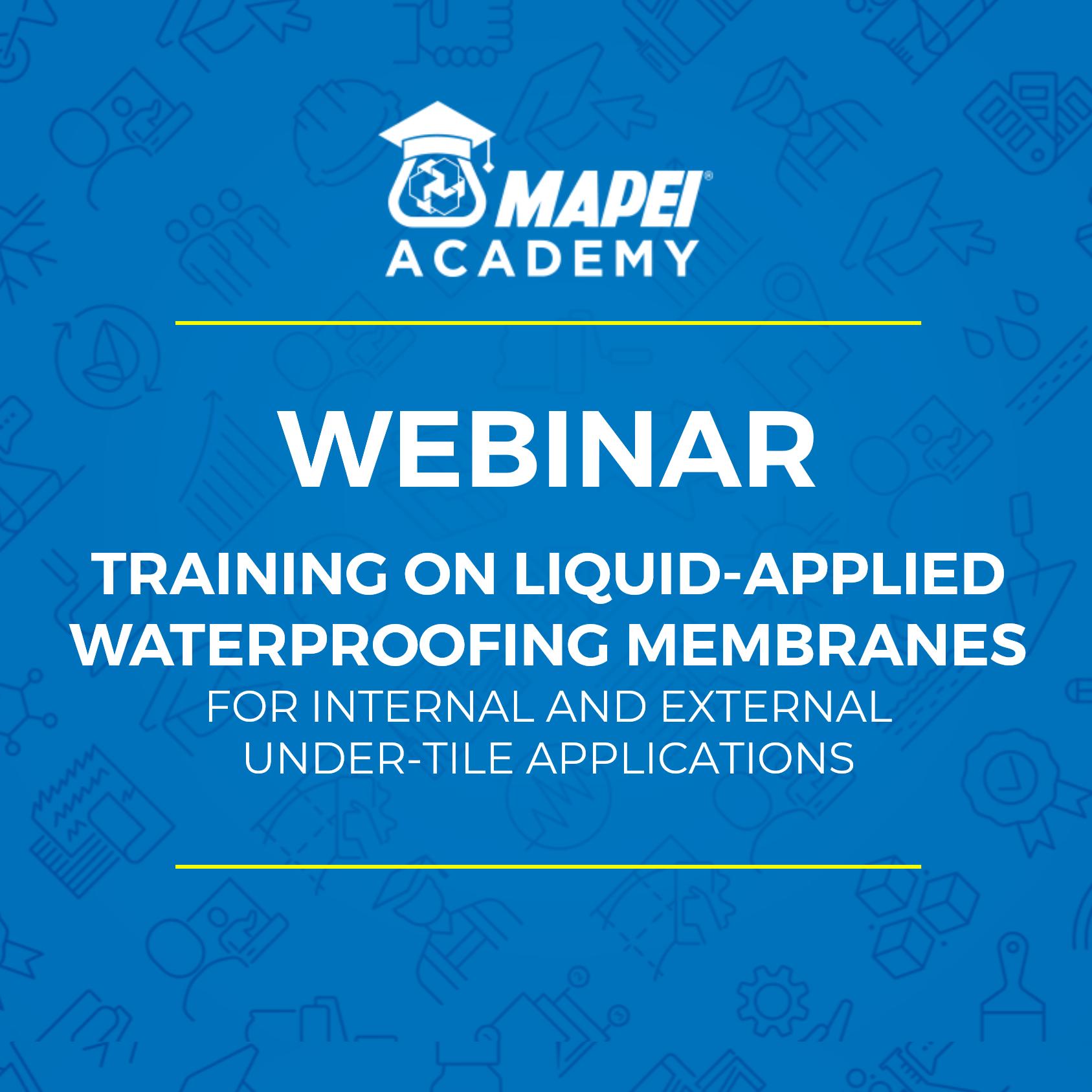 NZ Webinar - Waterproofing Course -generic