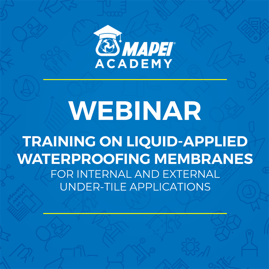 NZ Webinar - under tile liquid membrane waterproofing