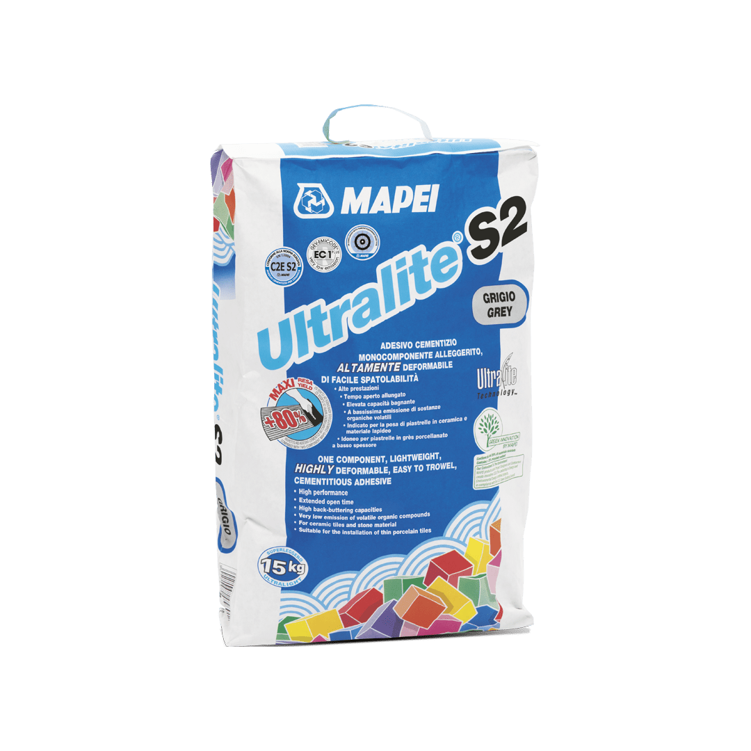 ULTRALITE S2 - Cementitious Tile Adhesive