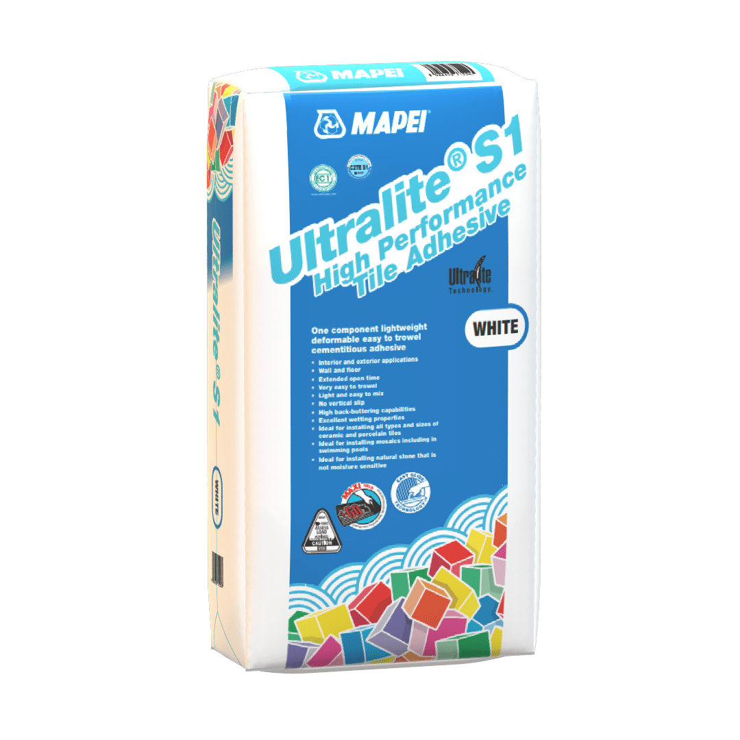 ULTRALITE S1 - High Performance Tile Adhesive