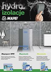 Hydroizolacje pomieszczeń mokrych MAPEI