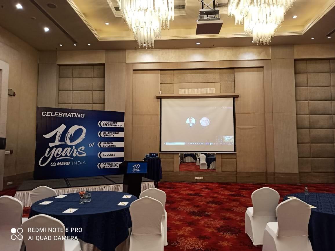 Partners Meet, (North India), Mapei India