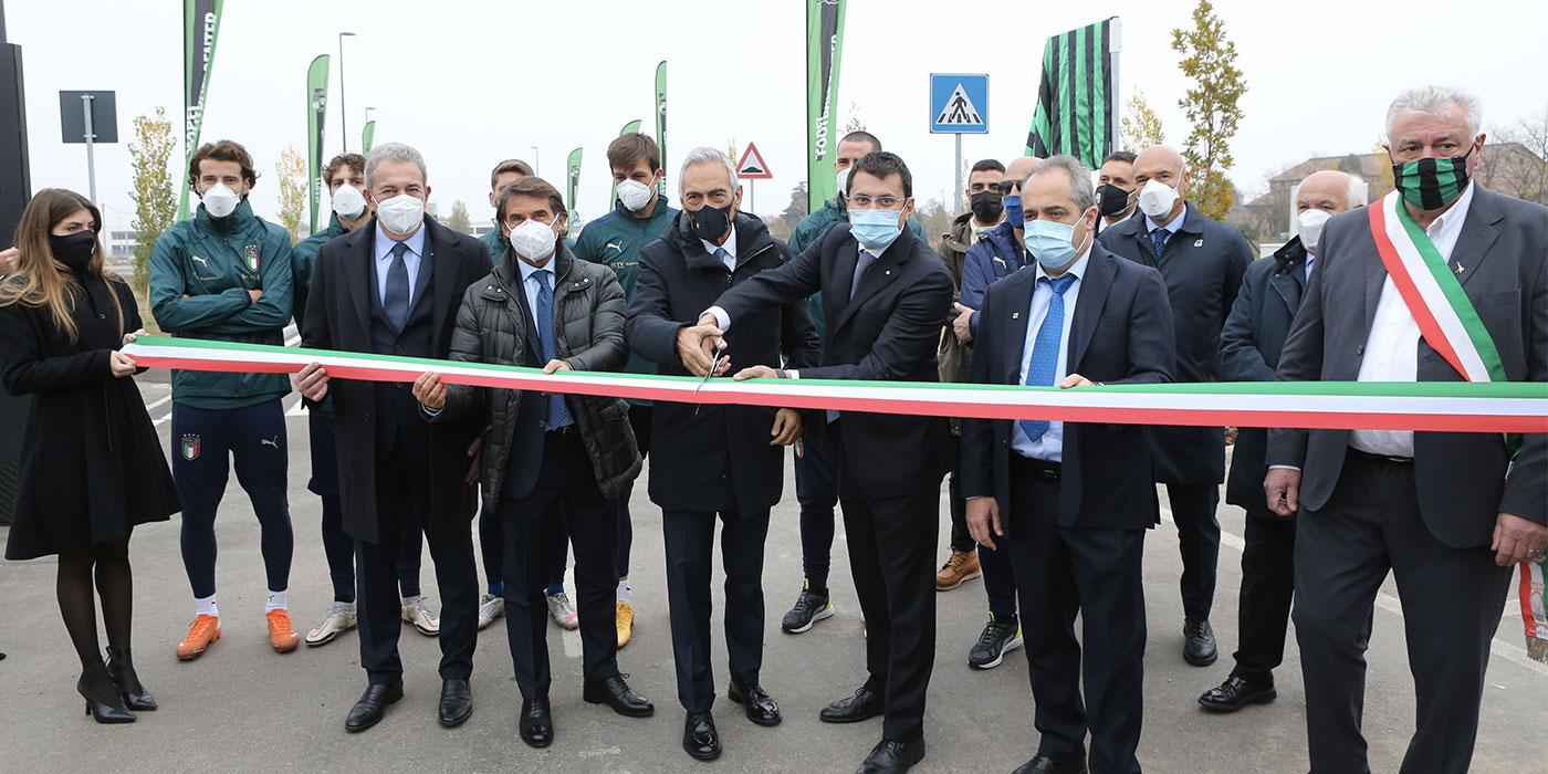 MAPEI FOOTBALL CENTER: Jalan yang menggunakan nama Giorgio Squinzi