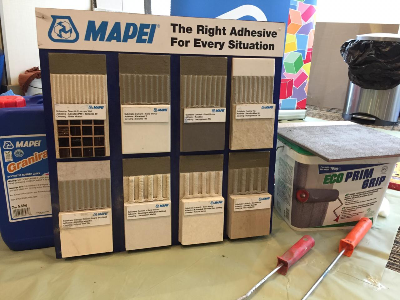 Mapei Tile Adhesive Solution