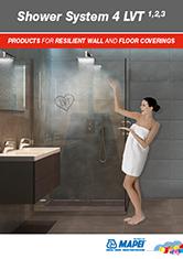 LVT-shower-system