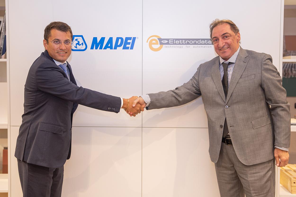 Mapei y Elettrondata anuncian alianza estratégica.